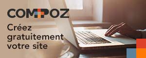 Compoz - Créez gratuitement votre site