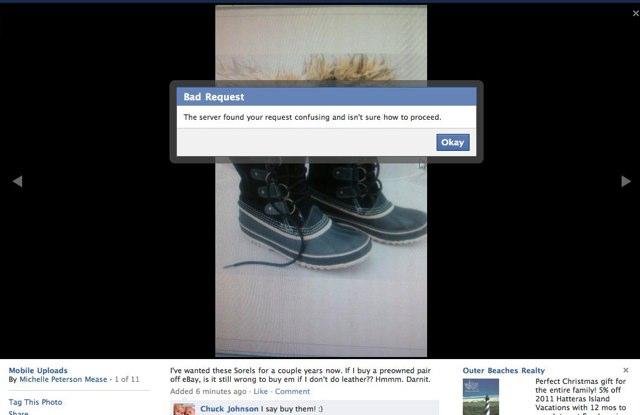 Nouvelle visualisation des photos sous Facebook