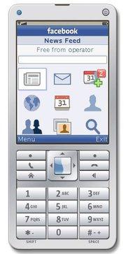 Applications Facebook pour features phones