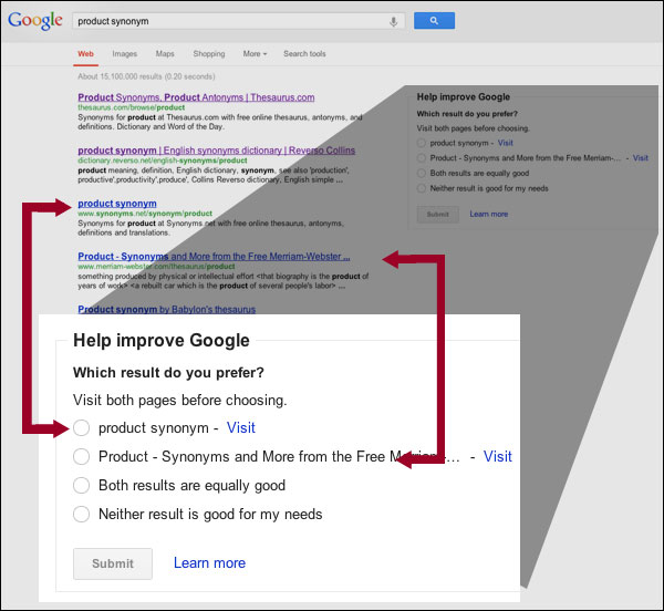 google-feedback-test