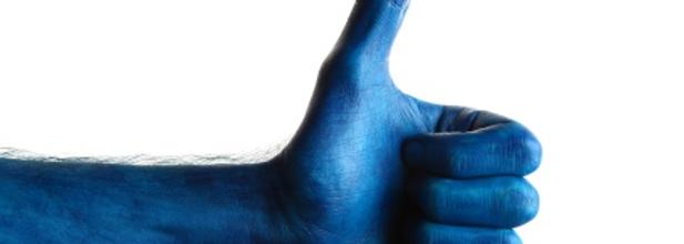 Images et Photos de Pouce bleu pinceau 41 images et