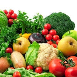 google valeurs nutritives fruits légumes