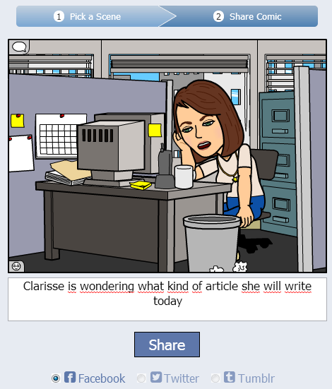 bitstrips creation