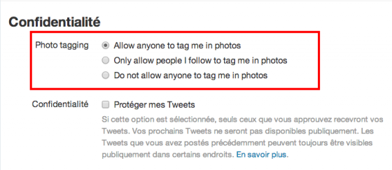 tag photo twitter