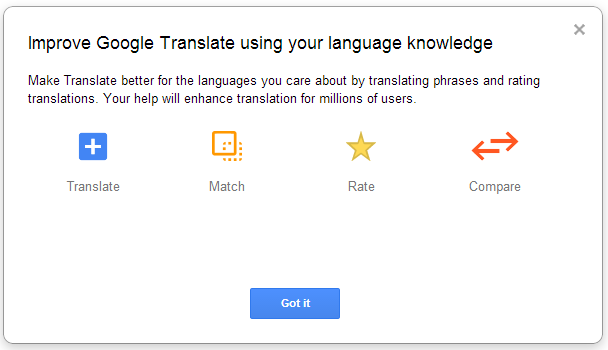 google translate c ommunity