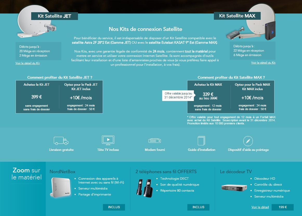 kit satellite nordnet
