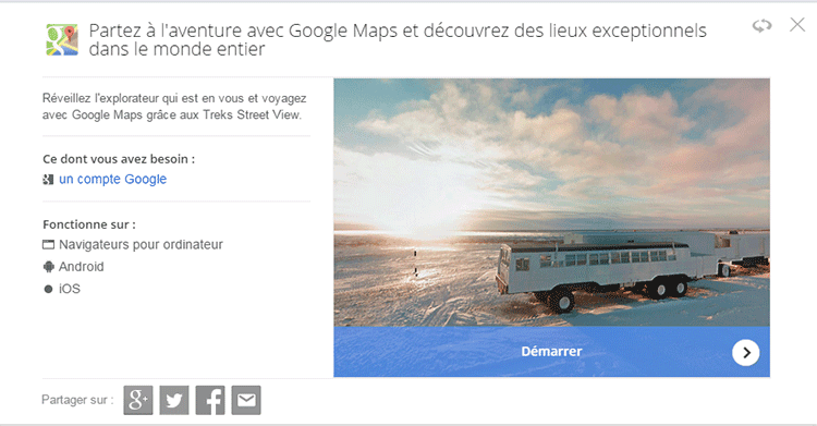 treks google astuces