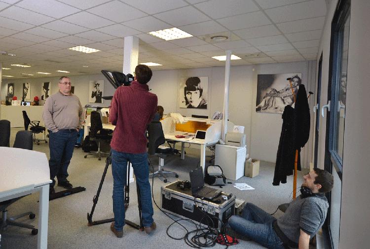 Philippe, Directeur de la Relation Client passe derrière la caméra
