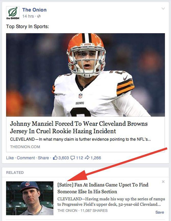 facebook sites parodiques