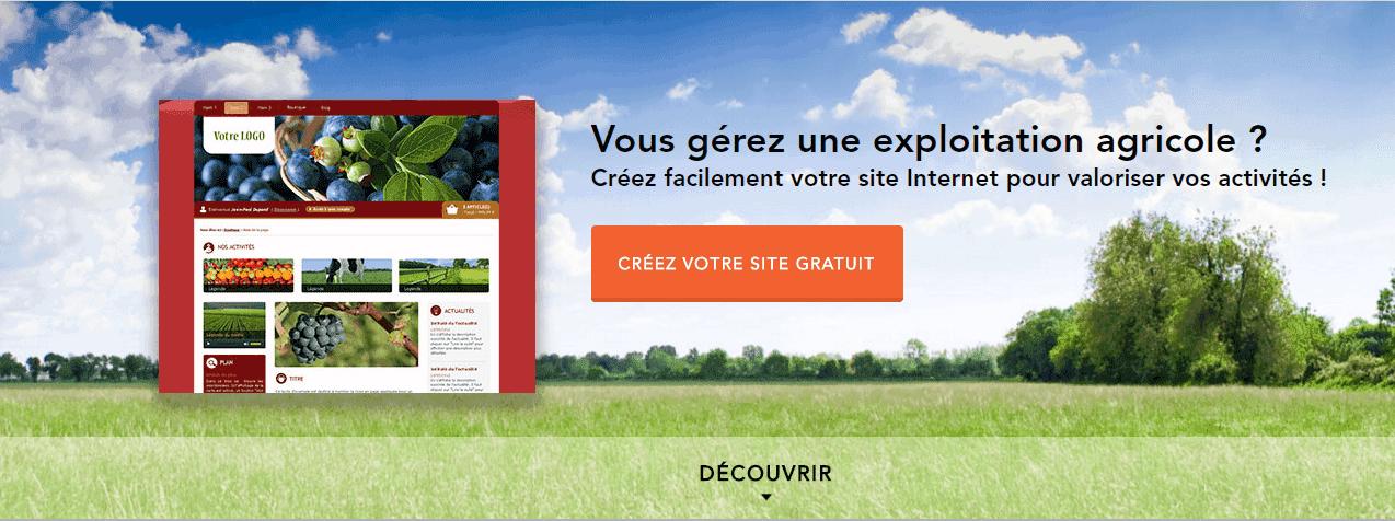 compoz exploitation agricole site internet