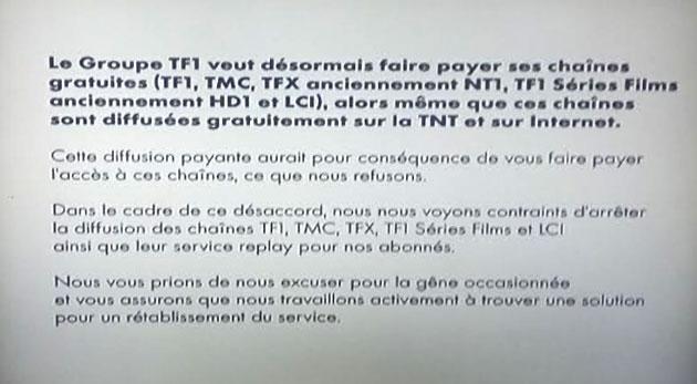 tntsat canal+ tf1