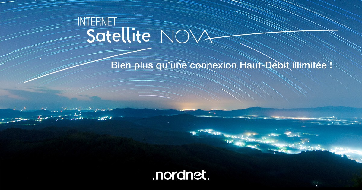 internet satellite nordnet nova