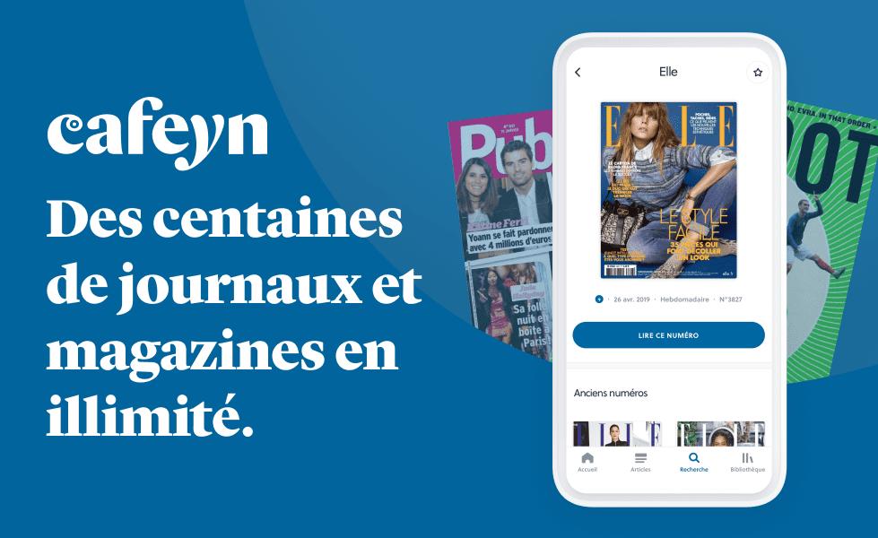 service abonnement presse numérique gratuite en ligne titres journaux magazines