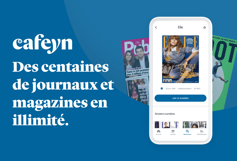 cafeyn application presse numérique nordnet magazines en ligne gratuits